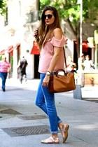 nowIStyle blouse - Stradivarius jeans - Zara flats