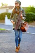Panama Jack boots - Zara jacket - Zara bag - Stradivarius hair accessory