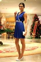 cloe bag - TFNC LONDON dress - Choies heels - cloe earrings