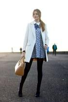 Menbur boots - Sheinsidecom dress - Sheinsidecom coat