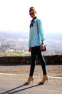 Zara-jeans-oliver-peoples-sunglasses-suiteblanco-heels-sheinside-blouse