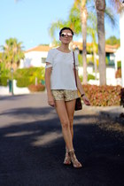 natura bag - christian dior sunglasses - viconti du reau sandals - shein blouse