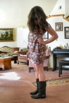dress - Faryl Robin boots