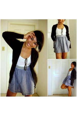 LoveCulture skirt - Old Navy sweater - Old Navy shirt