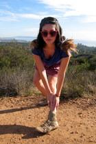 trinity shirt - American Apparel skirt - Jeffrey Campbell boots