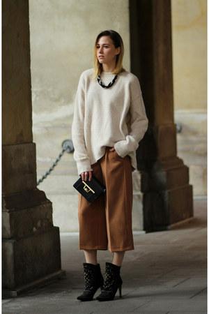 bronze culottes Zara pants