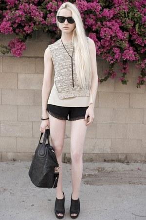 Givenchy bag - nightcap shorts - Ray Ban sunglasses - H&M necklace - 31 Phillip