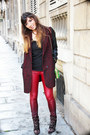 Black-isabel-marant-boots-brick-red-rock-glamour-asos-coat