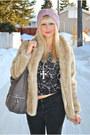 Black-spring-boots-beige-h-m-coat-light-pink-asos-hat-black-h-m-shirt-