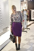 amethyst SH skirt