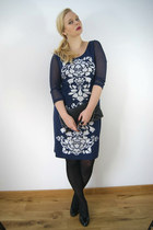 navy BonPrix dress