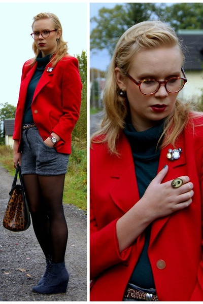 ruby red SH jacket