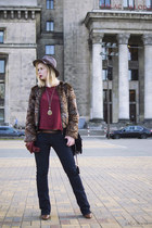 brown Vero Moda jacket