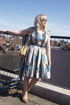 The Attic People Vintage Clothing dress - The Attic People vintage bag - Sweedis