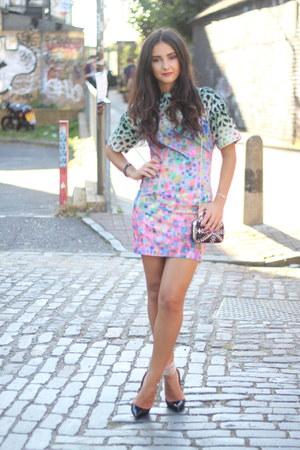 dress - Christian Louboutin heels