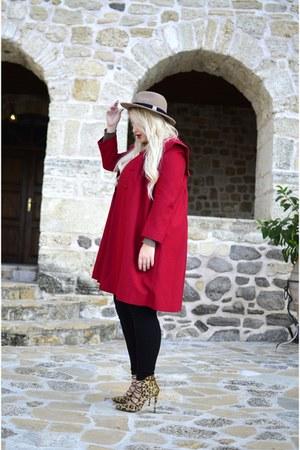 vintage coat - Sante heels
