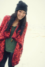 Nine-west-boots-asos-hat-urban-outfitters-sweater