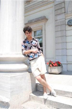 vintage shirt - vintage shorts