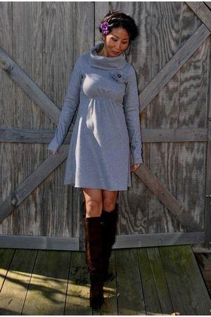 gray marsilia dress