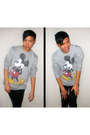 Heather-gray-topman-sweater-black-jayjays-jeans