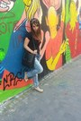 Black-bershka-bag-bershka-jeans-black-zara-t-shirt-eggshell-zara-flats