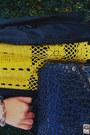Yellow-crochet-dress