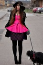 Hot-pink-peplum-blouse
