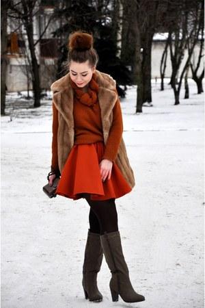 DIY vest - handmade skirt