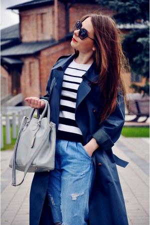 SH coat - sh diy jeans