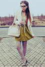 Olive-green-skirt