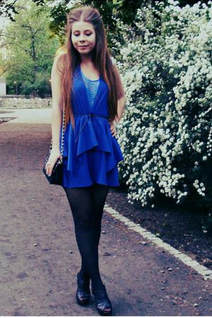 blue romper