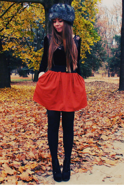 carrot orange DIY skirt