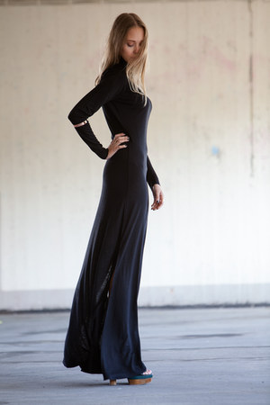 black dagmar dress