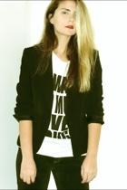 Zara blazer - calope shirt - Diesel pants