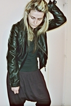 vintage jacket - self-made pants