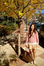 Beige-ankle-boots-h-m-boots-ruby-red-stripes-tj-maxx-sweater