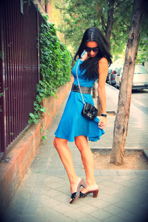 Mango belt - Sfera dress - dior bag