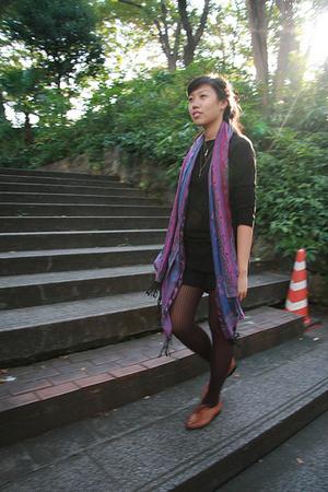 Muji shirt - Oxford shoes