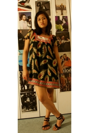 Forever21 dress - Urban Outfitters shoes