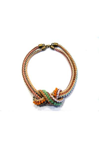 ropecrystal maslinda necklace