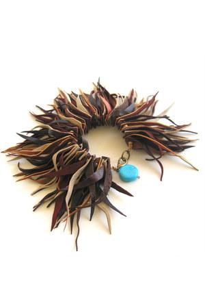 fringed maslinda bracelet