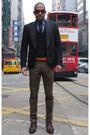 Black-smoker-jacket-jeans-paul-gaultier-jacket