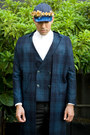 Navy-six-lee-coat-navy-six-lee-hat-white-calvin-klein-shirt