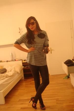H&M Mens blouse - Bershka leggings