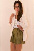 Olive-green-rayon-iikoy-shorts
