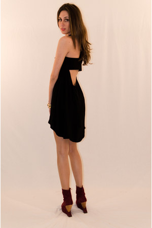 black rayon IIKOY dress