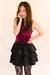 black Minty Meets Munt skirt - red velvet Minty Meets Munt bodysuit