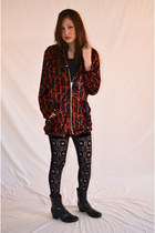 Brick-red-evil-twin-jacket-black-polyester-evil-twin-pants