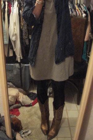 shirt - dress - shoes