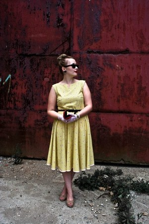 yellow cotton MiciMici dress